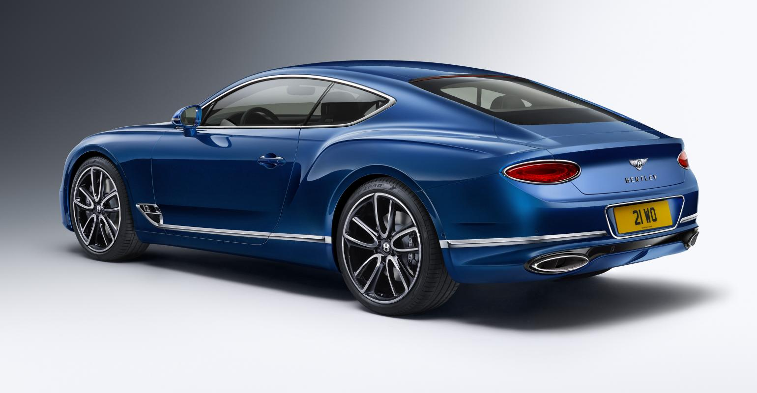 Bentley Technology Underpins Luxury In Newest Continental S Coupe