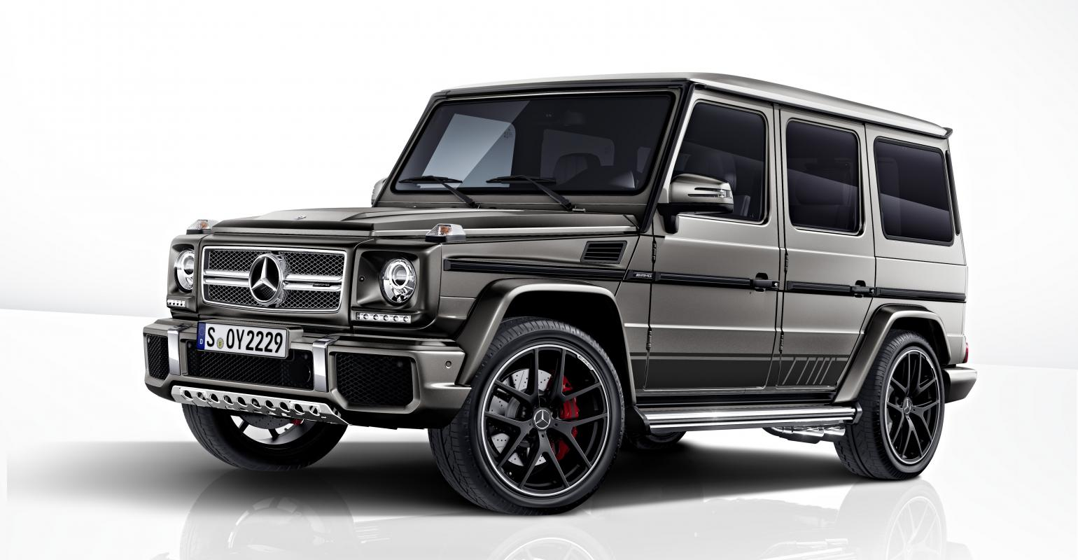 Mercedes Amg Unveils Limited Edition G Class Models Wardsauto