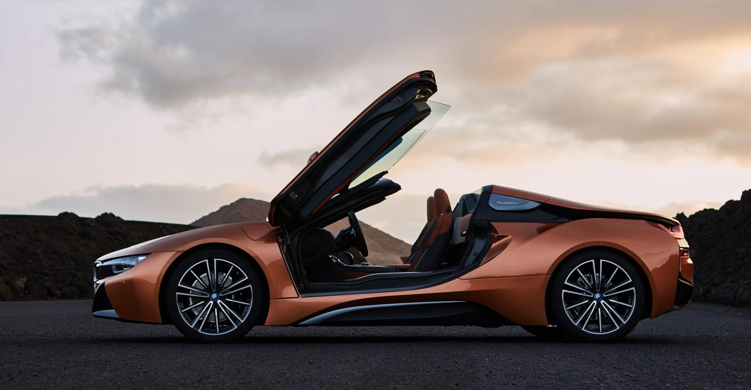 La Auto Show Roadster Arrives With Refreshed Bmw I8 Coupe Wardsauto
