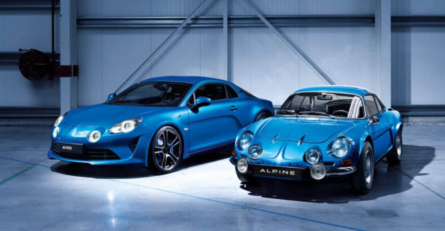 Alpine | Renault Revives Production of Sports Car After 40-Year ...