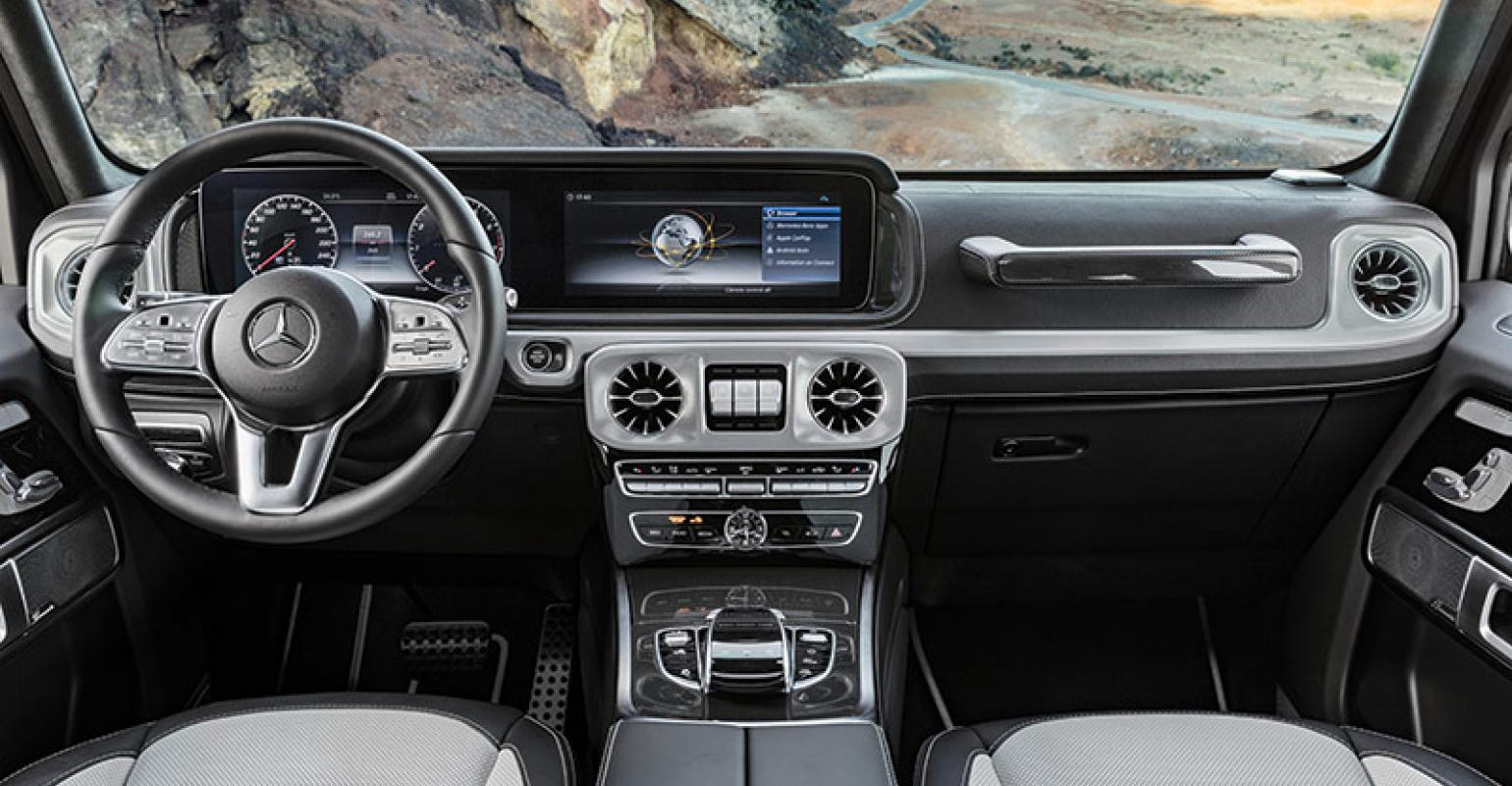 Mercedes Reveals Facelifted U002718 G Class Interior