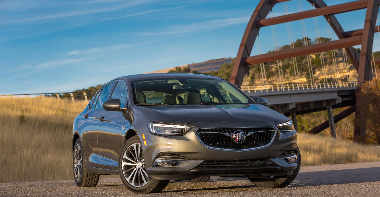 General Motors 2018 Buick Regal Sportback In League Of Its Own