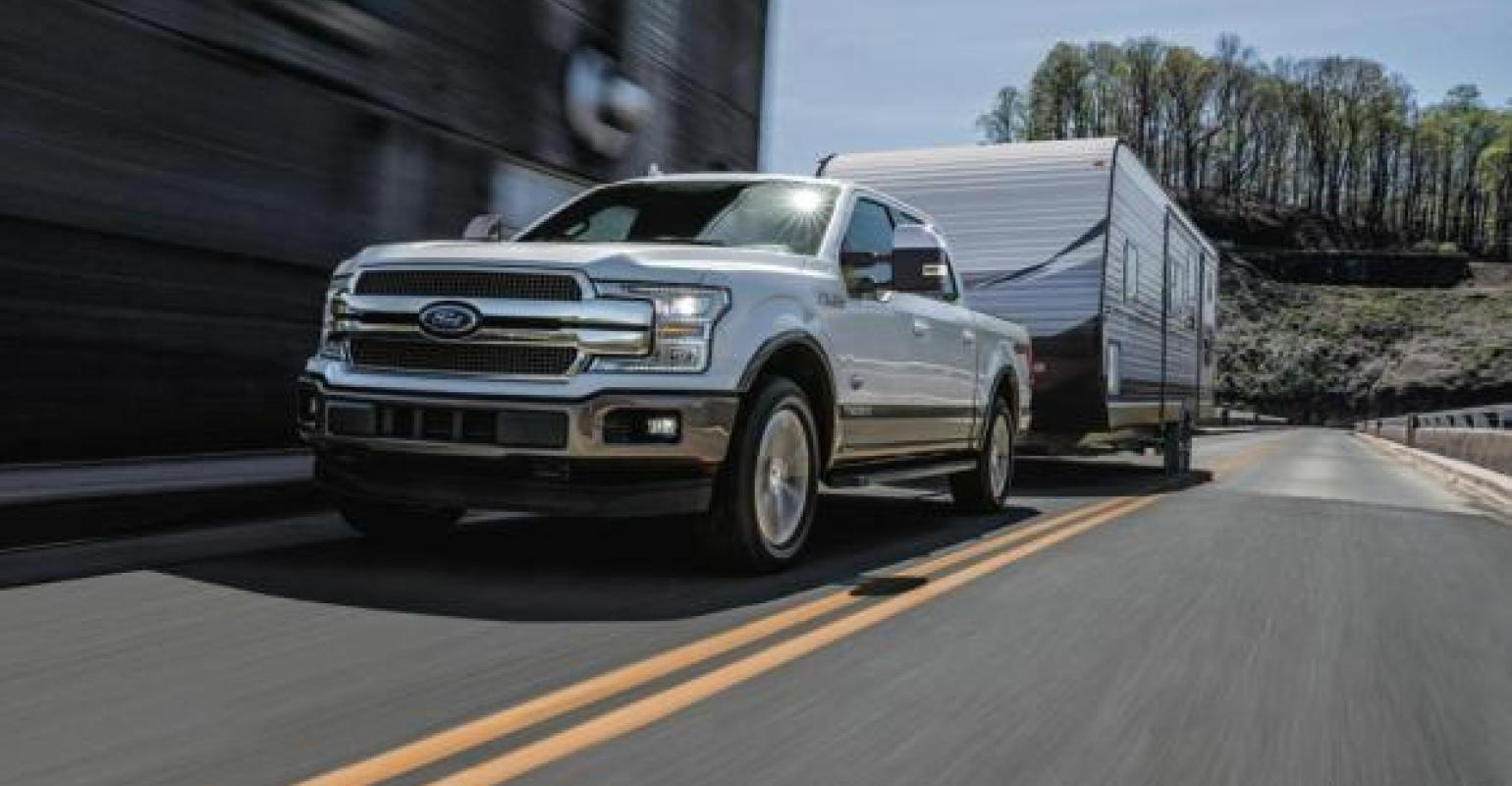 Ford expects 85 of diesel f150 buyers will pull trailers