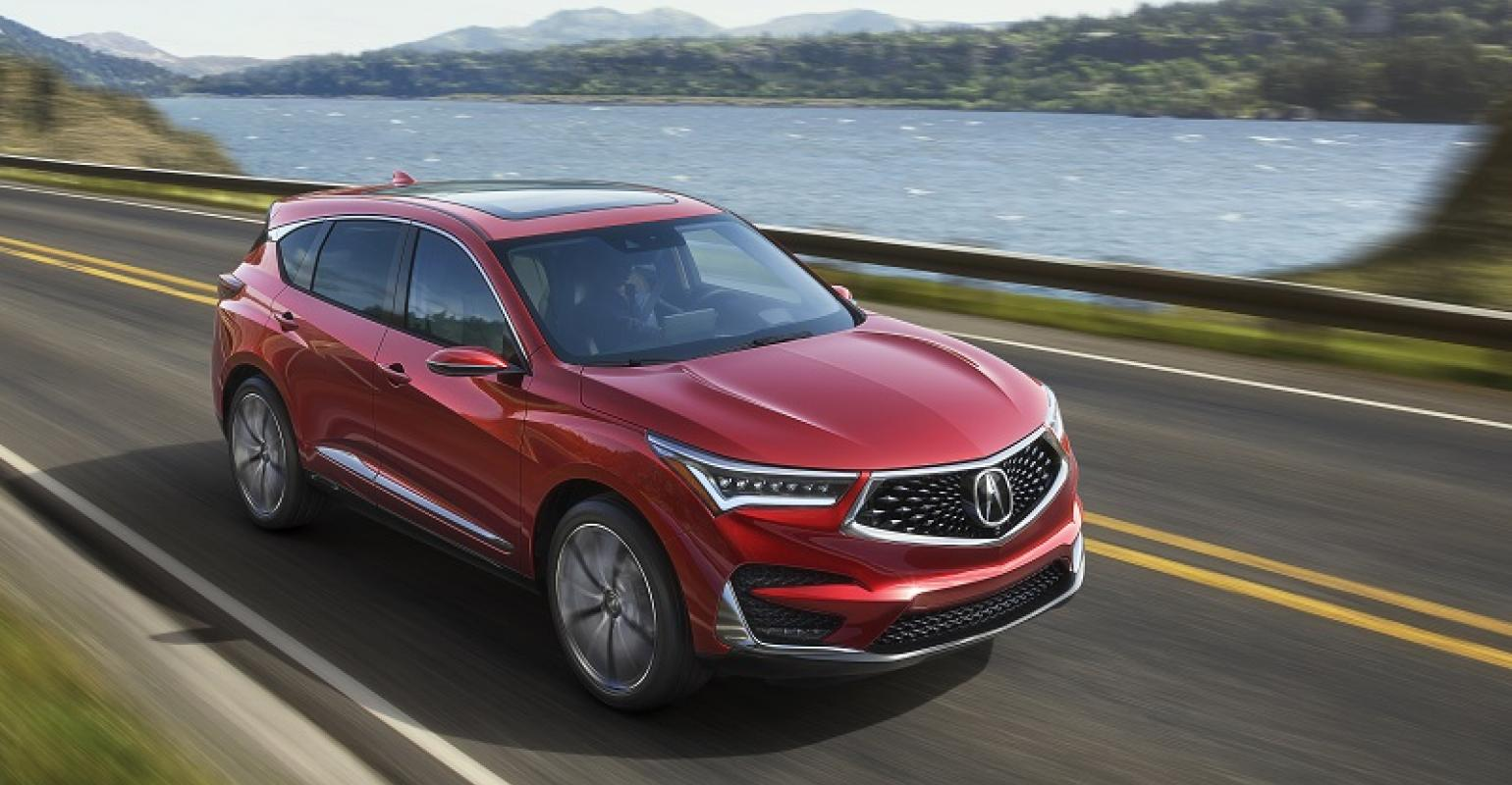 Acura Rdx Prototype Revealed