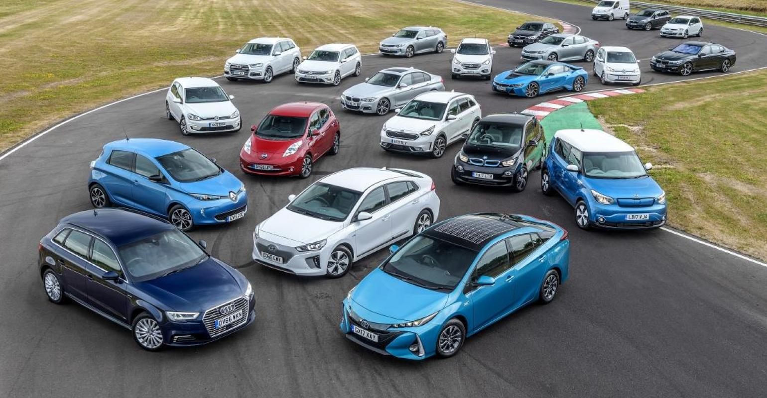 Electric Vehicles Set U K S Records In 2017