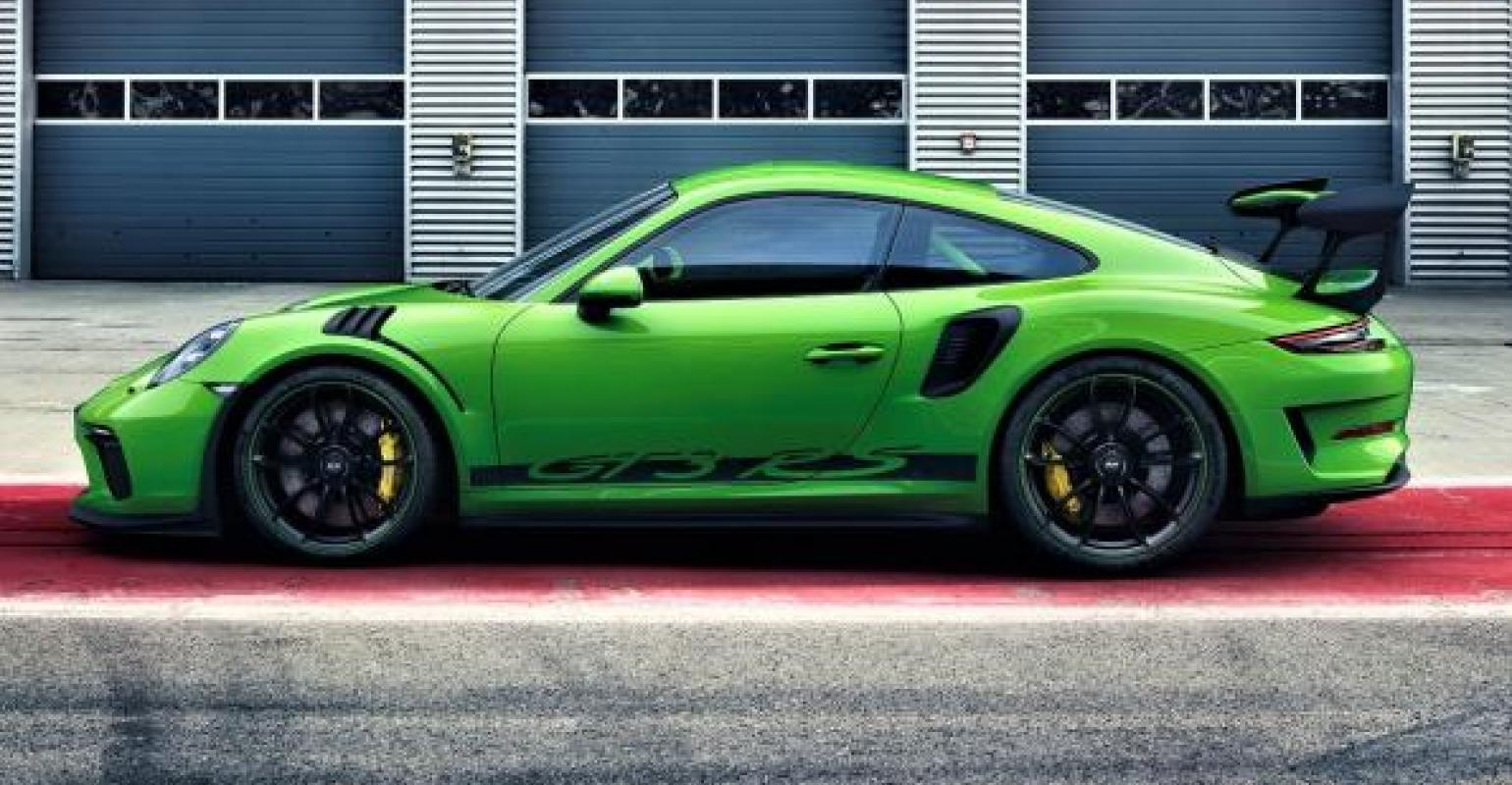 Updated Porsche 911 Gt3 Rs Revealed Wardsauto