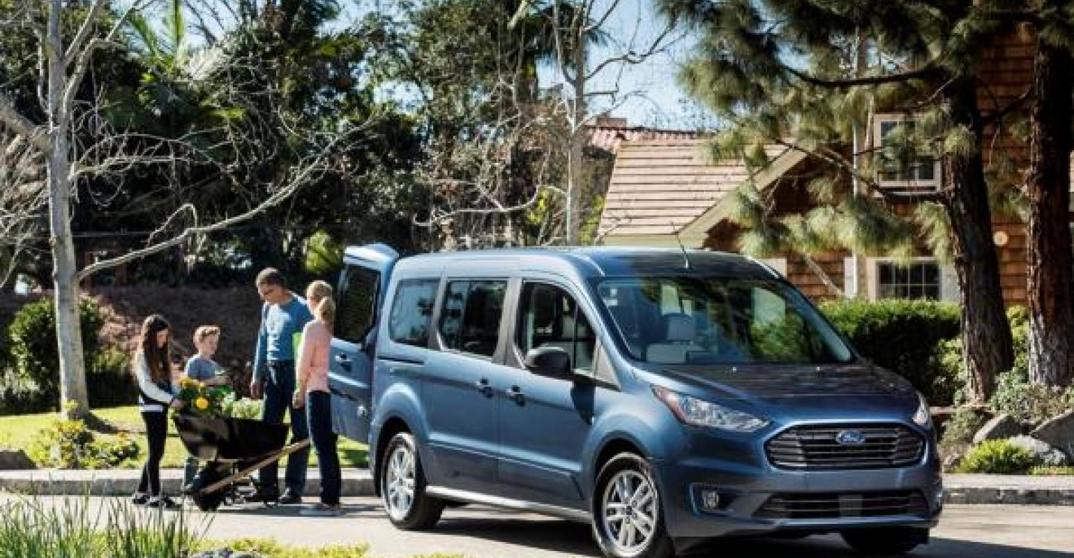 Ford transit connect wagon the non minivan