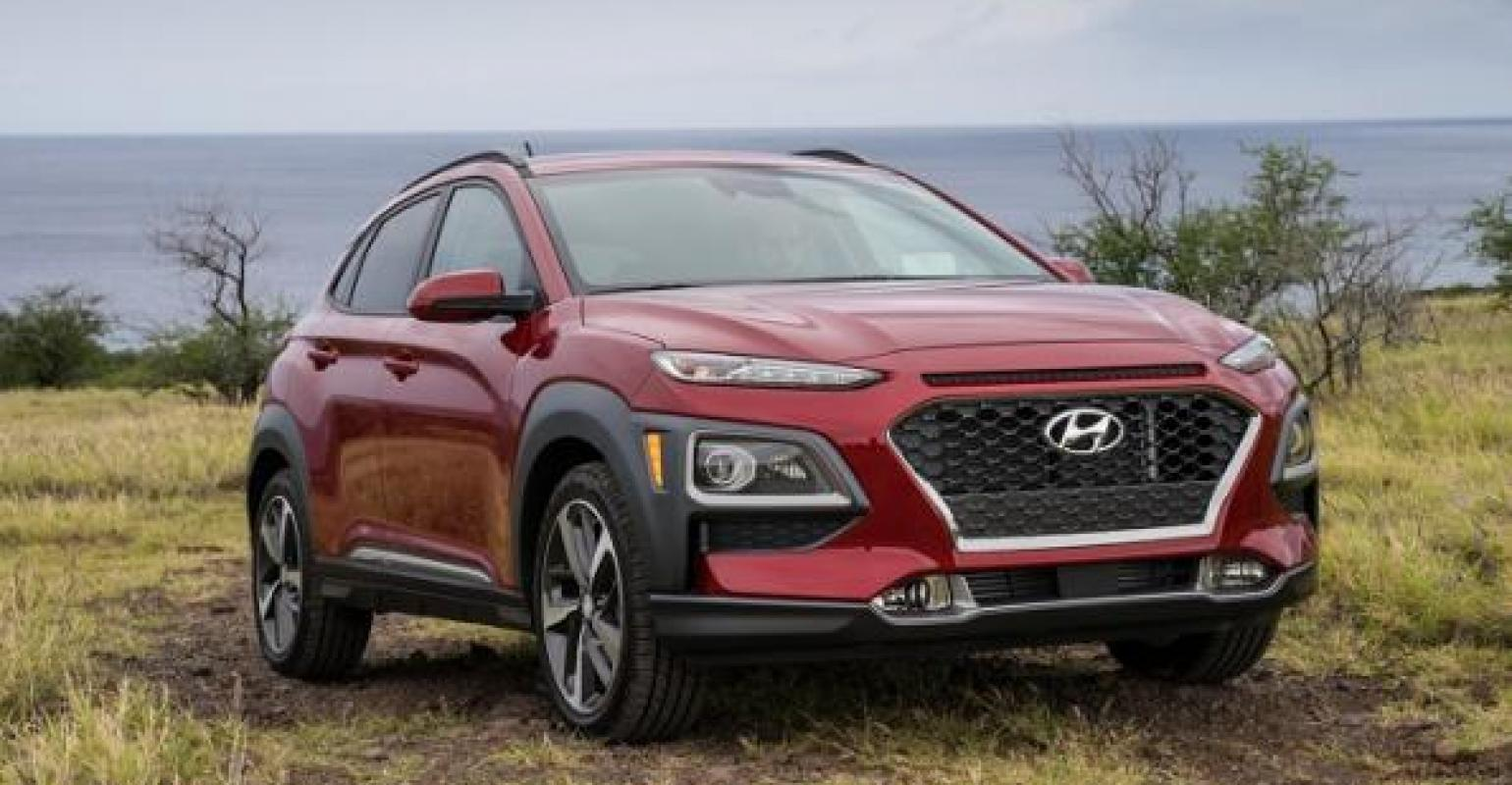 Hyundai 2018 Hyundai Kona Stands Out From Sea Of Small Crossovers