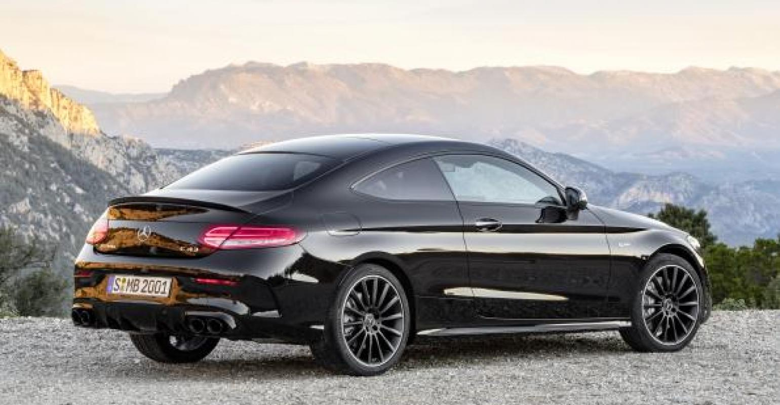Mercedes Automaker Reveals Facelifted C Class Coupe Cabriolet Wardsauto