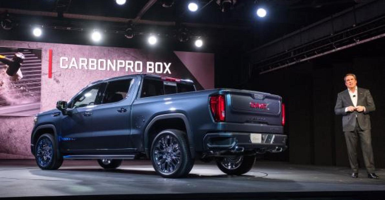General Motors Redesigned 2019 Gmc Sierra Luxury Pickup Bows