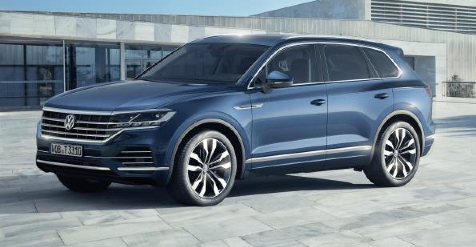 Revamped Vw Touareg Won T Be Sold In North America