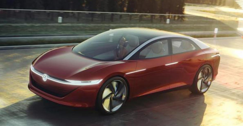 Volkswagen Luxury Sedan Concept Vw S Latest All Electric Model