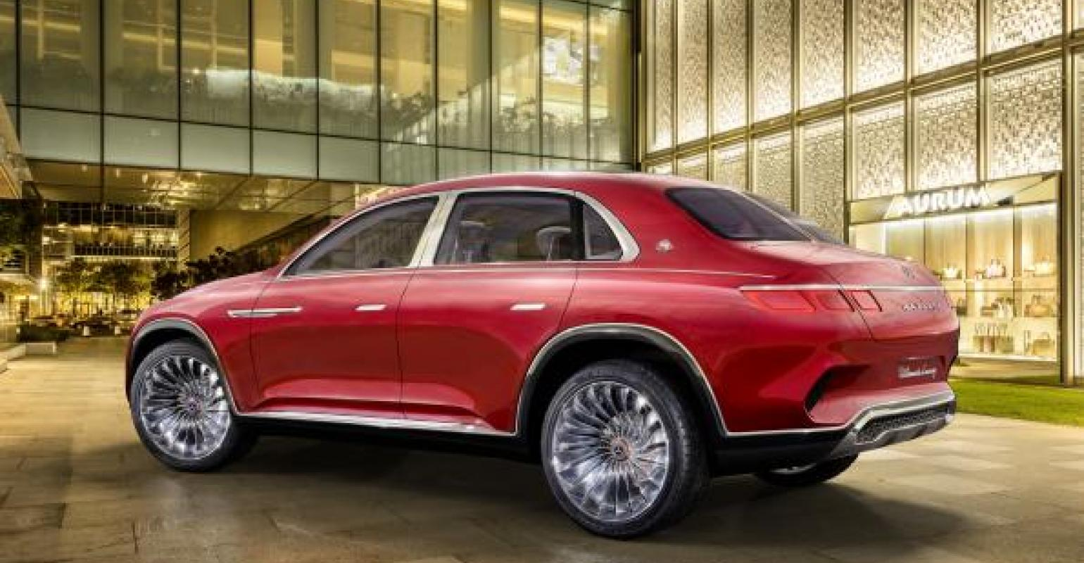 Mercedes Benz Mercedes Maybach Vision Ultimate Luxury Unveiled