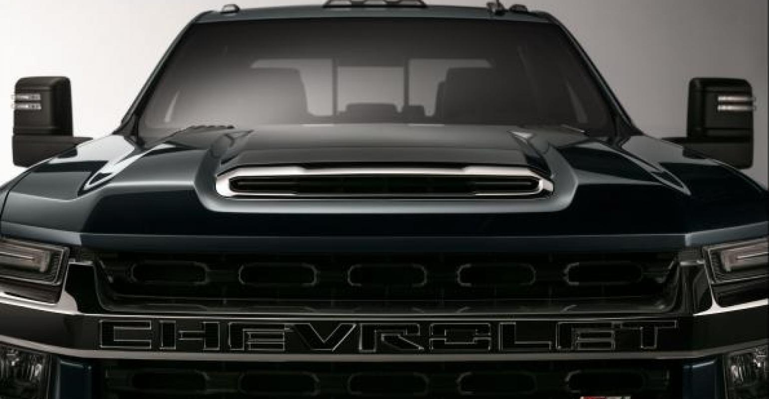 Chevy Gave Sneak Peek Of Silverado HD Pickup At Las Vegas Dealer And Media  Event