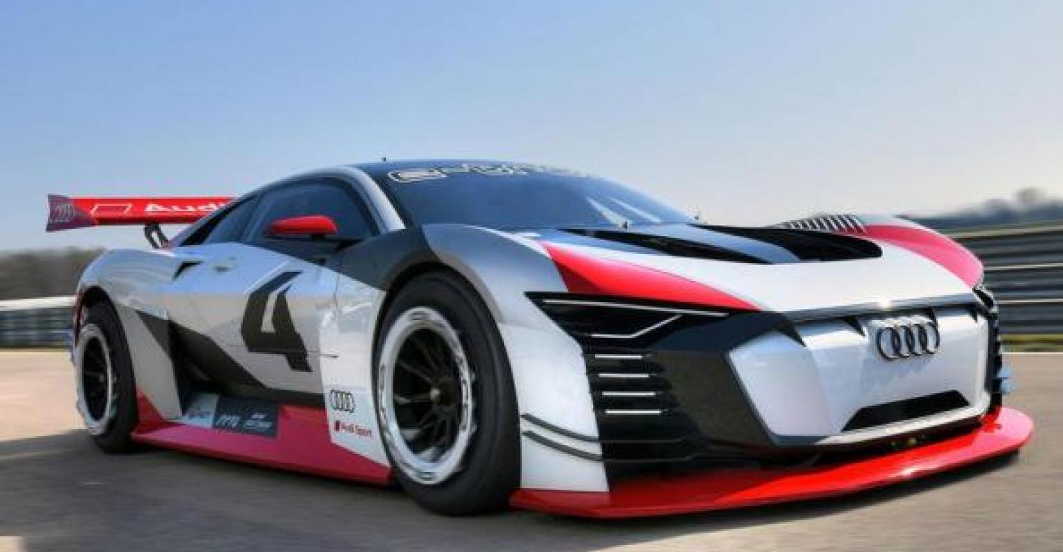 Audi Sports Car Maker Takes 805 Hp E Tron Gt From Screens To
