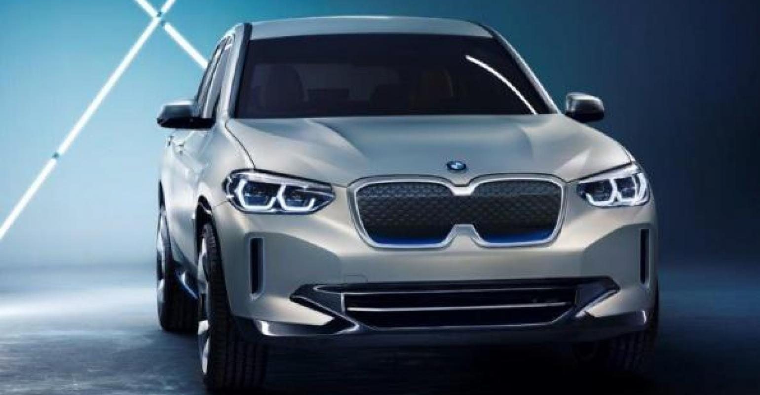 Bmw German Automaker Reveals All Electric Concept Ix3 In Beijing