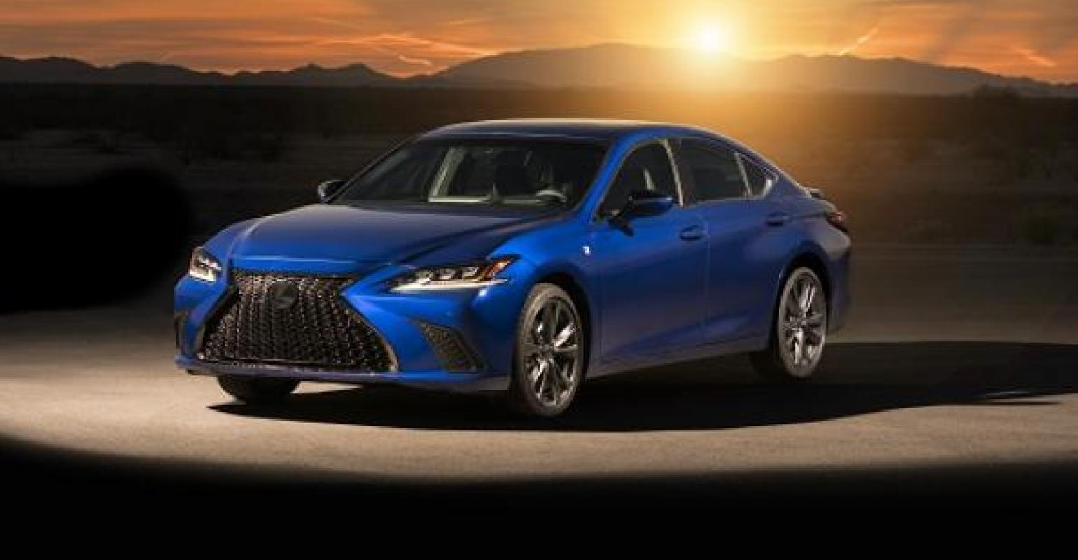 Lexus Gets Aggressive With Revamped ES Model