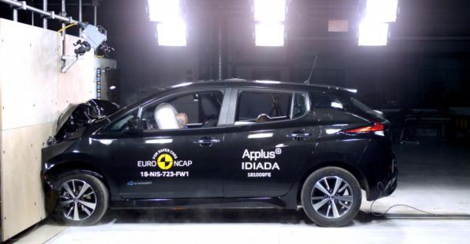 Nissanu0027s Leaf EV Wins Top European Safety Rating