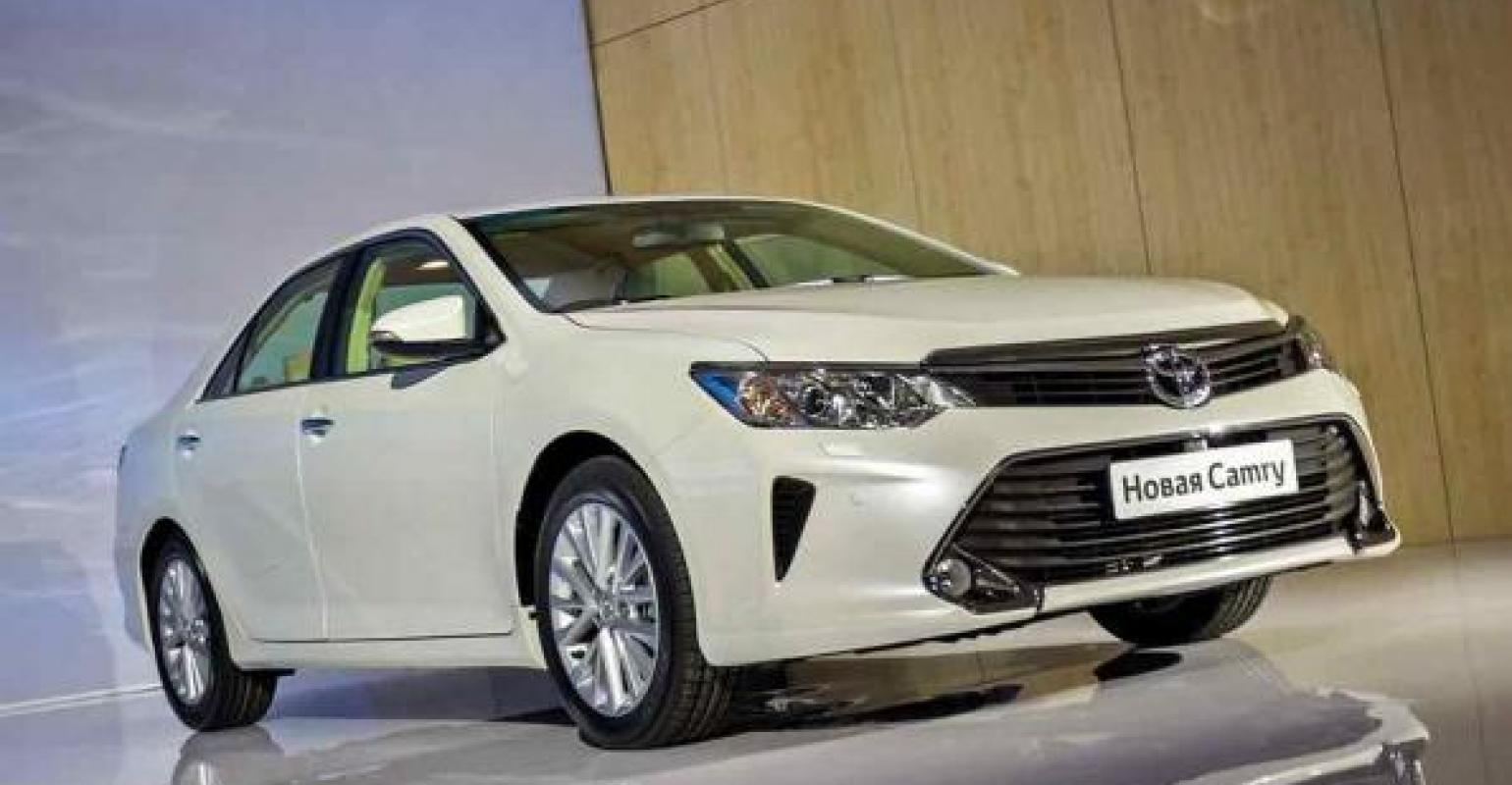 Toyota Launches New Gen Camry Production In Russia