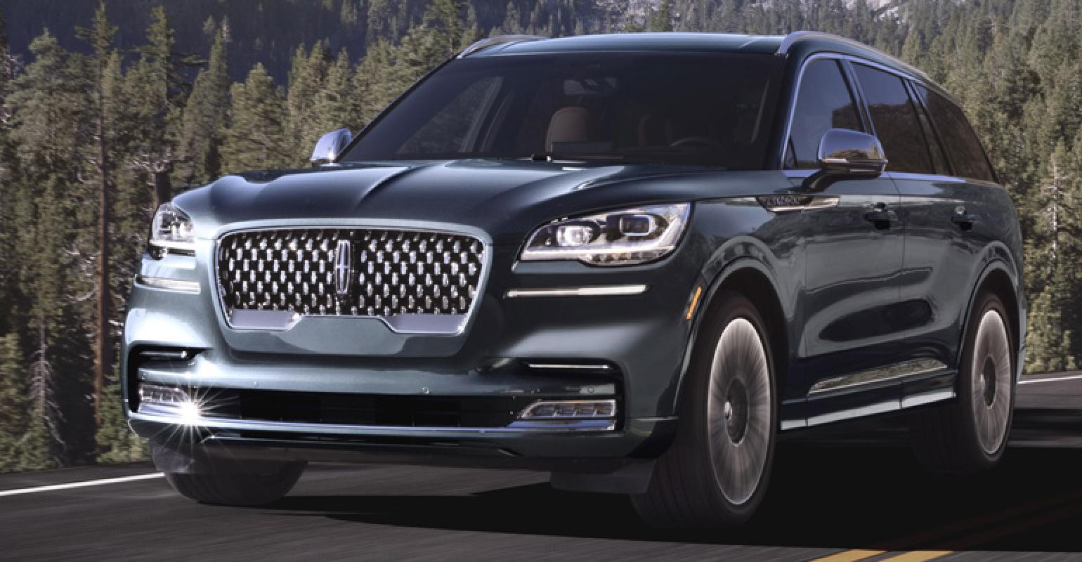 Los Angeles Auto Show All Aboard New Lincoln Aviator Blasts Off