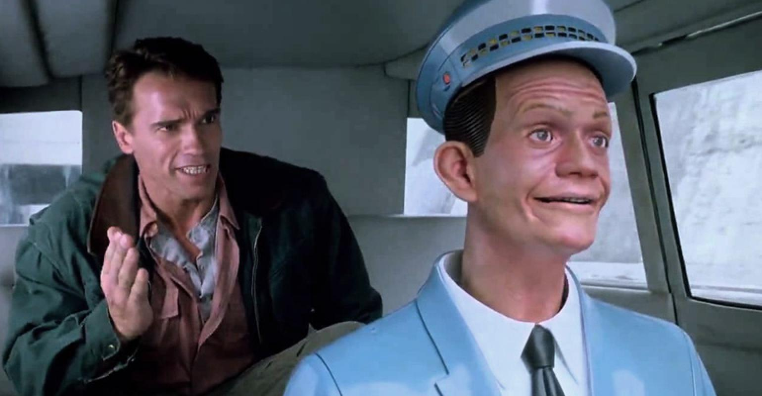 Image result for total recall taxi driver