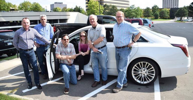 Cadillac CT6 with WardsAuto editors