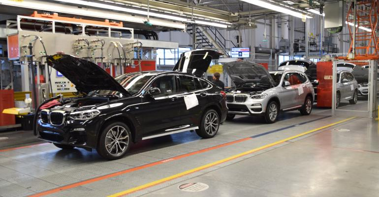 X3 follows X4 for quality assessment at BMW Spartanburg plant.
