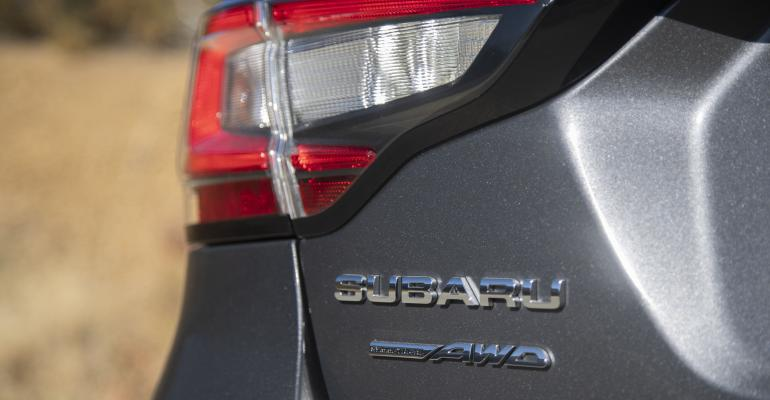 20 Subaru Legacy badge closeup.jpg