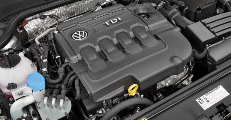 VW said EA288 TDI engine in '15 Jetta wasn't fitted with so-called cheat software.