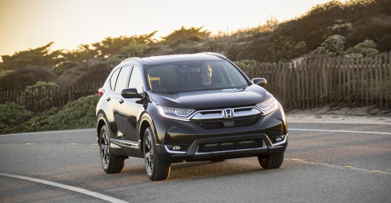 2017 Honda CR-V gray