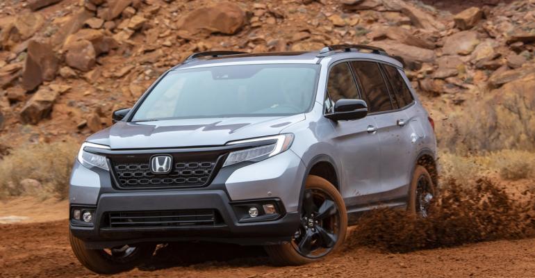 2019 Honda Passport mud mode