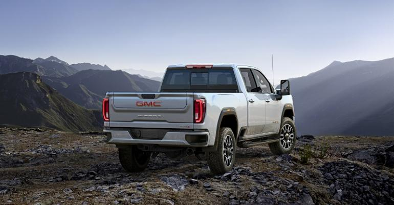 2020 GMC Sierra 2500HD AT4.