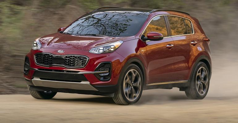 2020 Kia Sportage CAS red cropped