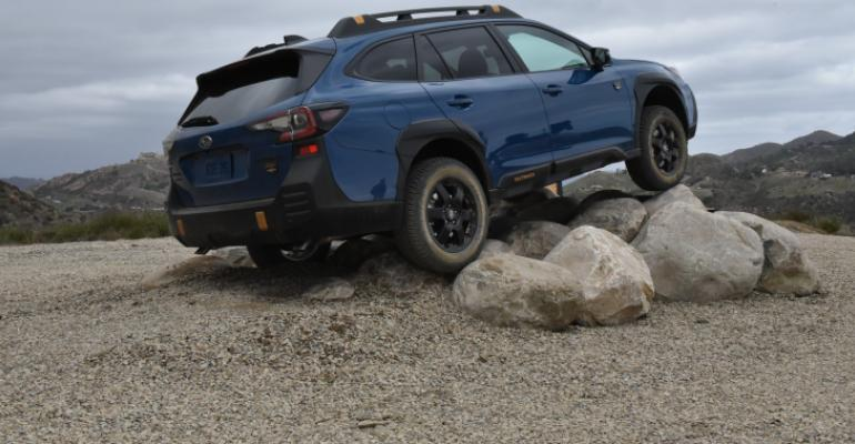 2022 Subaru Outback Wilderness Rear.JPG