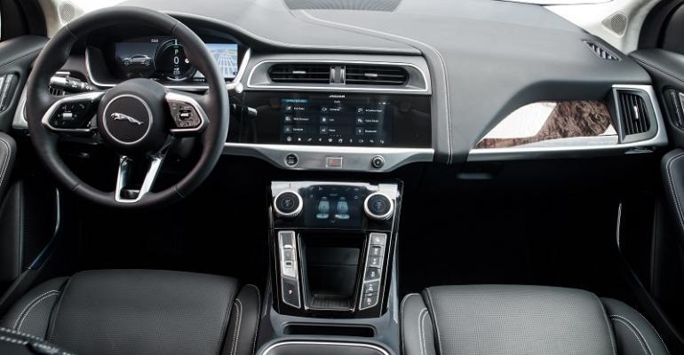 I-Pace's luxurious, sporty interior quintessentially Jaguar.