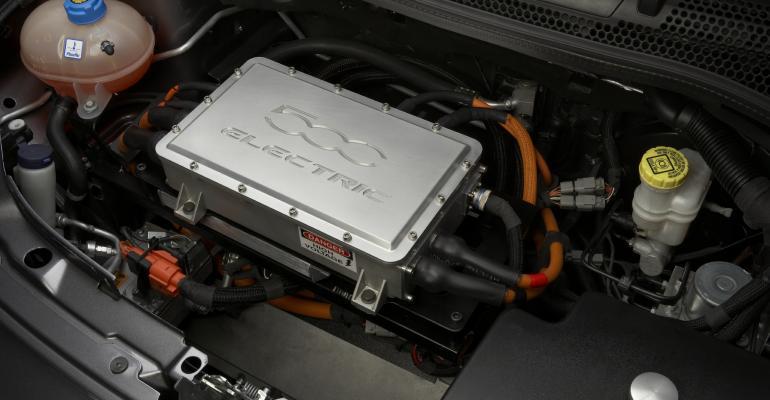 Fiat 500 EV Powertrain