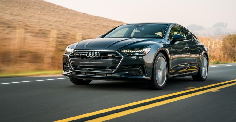 2019 Audi A7 test drive lead art
