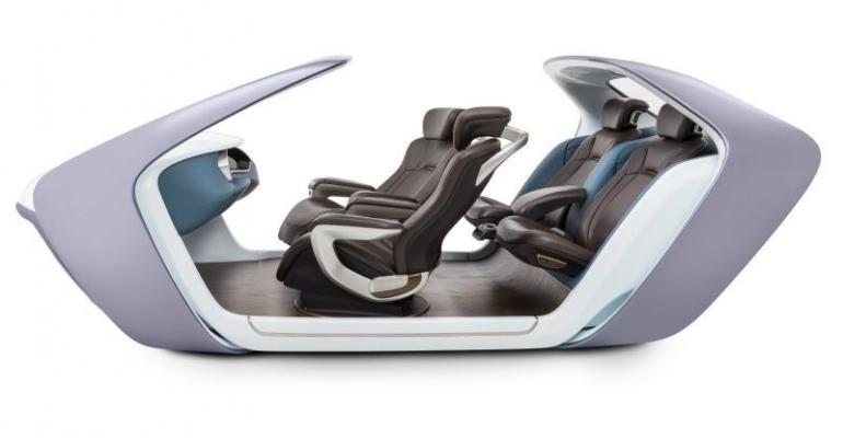 Adient autonomous seating
