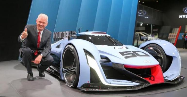 Biermann's duties at Hyundai range from high-performance to autonomous cars.