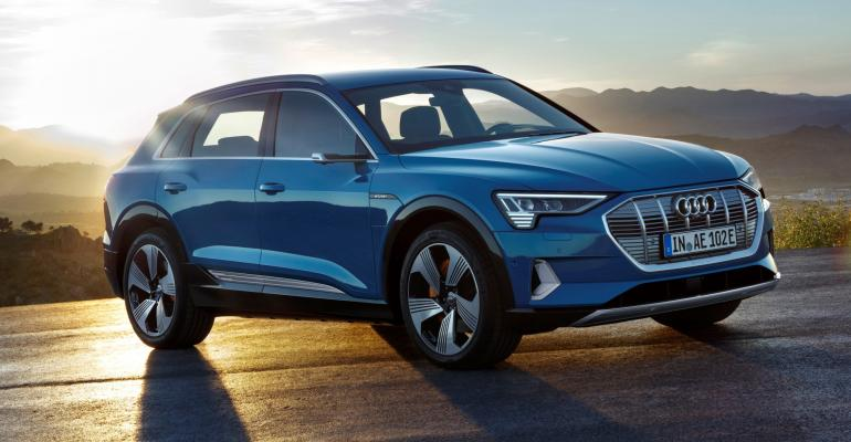 Audi offering free charging over four years to U.S. e-tron customers.