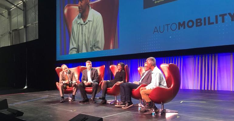 AutoMobility LA panelists discuss promise, challenge of blockchain in automotive.