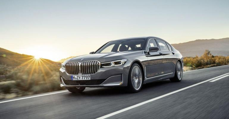 BMW says 745e xDrive's plug-in hybrid drivetrain offers more range, power.