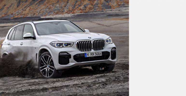 BMW X5 top target for U.K. car thieves in 2018.