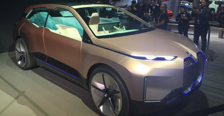 BMW iNEXT Concept features automaker's biggest-ever grille
