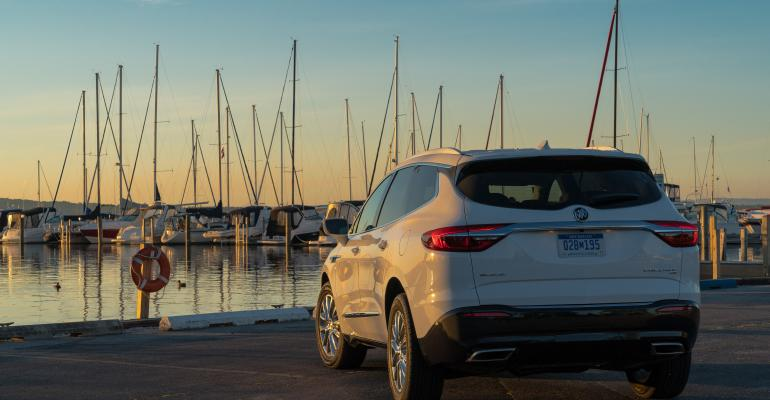 '18 Buick Enclave with QuietTuning.