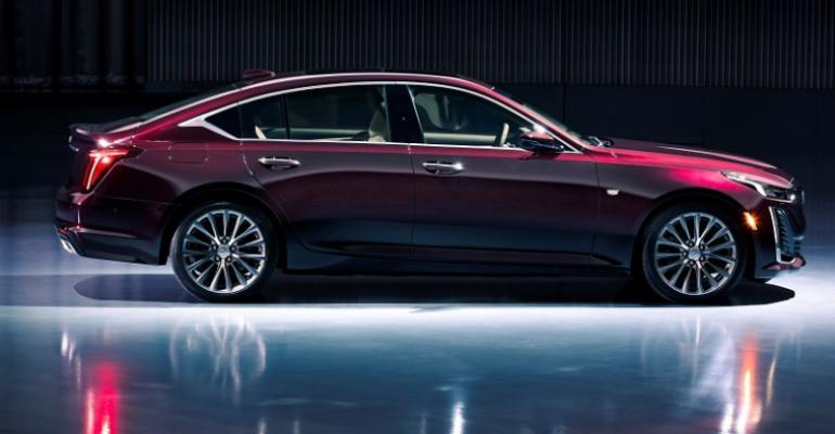 Cadillac CT5 Luxury sedan to bow at New York auto show.