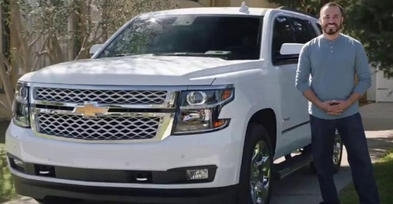 Chevrolet Fourth of July sales event ad booming success.