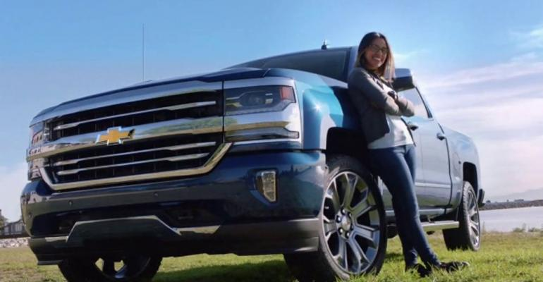 First-time Chevrolet owners in spotlight in most-viewed ad.