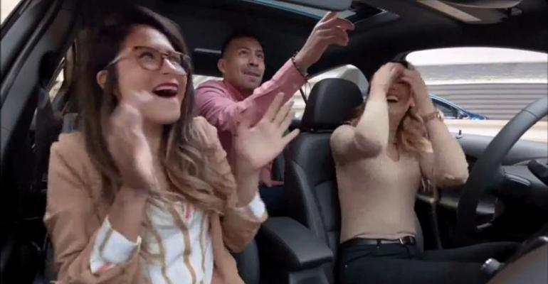 """Top-ranked Chevy Equinox ad titled """"Everyone's Excited."""""""