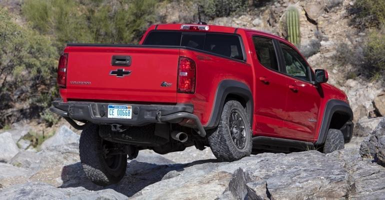 2019 Chevy Colorado ZR2 Bison rear
